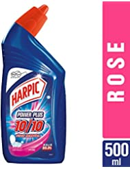 Harpic Powerplus Toilet Cleaner Rose, 500 ml
