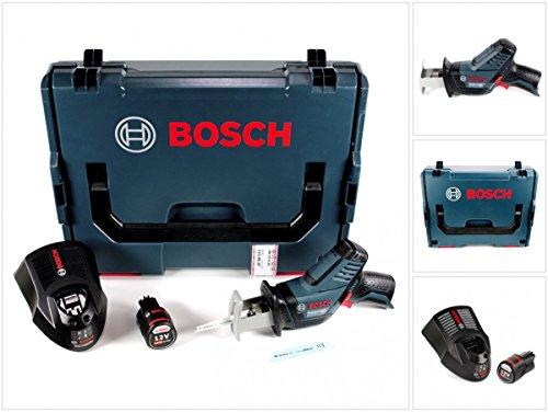Preisvergleich Produktbild Bosch GSA 12V-14 Li-Ion Professional Akku Säbelsäge in L-Boxx + 1 x GBA 12 V 2,5 Ah Akku + 1 x GAL 1230 Ladegerät