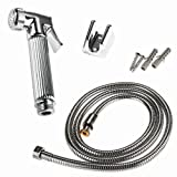 51ph0eseH6L. SL160  - BEST BUY #1 Bathroom Accessories Chrome Polished Brass Bidet Small Shower Toilet Faucet Mixer Tape Hand Shower Reviews and price compare uk