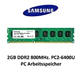 Samsung 2GB DDR2 800Mhz PC2-6400 240pin Desktop Arbeitsspeicher RAM Memory 3rd DIMM
