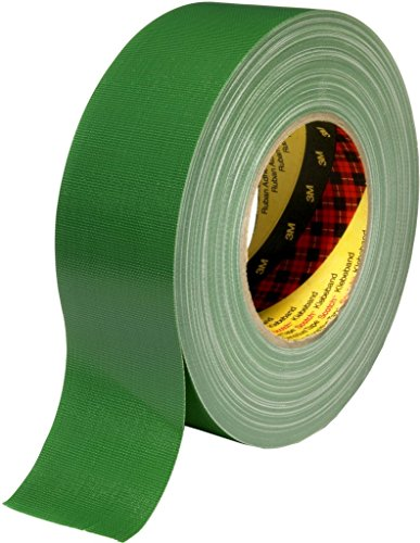 3M 7000111487 Scotch Gewebeklebeband, 389, 50 mm x 50 m, 0,26 mm, Grün