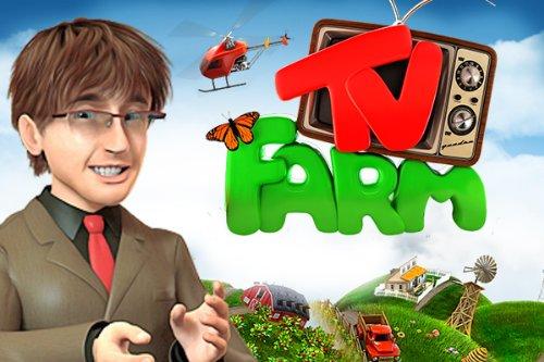 TV Farm Bauer auf Sendung