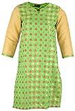 Ananya Women's Chanderi Brocade Straight...