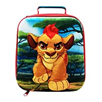 Lunchbox di The Lion Guard Con manico e etichetta per scrivere il proprio nome Misure: 21 x 10 x 21cm Prodotto ufficiale su licenza.