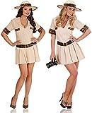 Unbekannt Seiler24 Cooles Safari Kostüm für Damen Größe 40-42