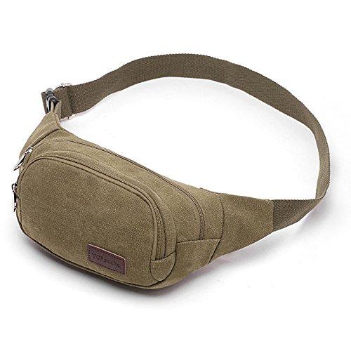 Der neue Trend der Herren Brust Tasche l?ssig Tasche army green