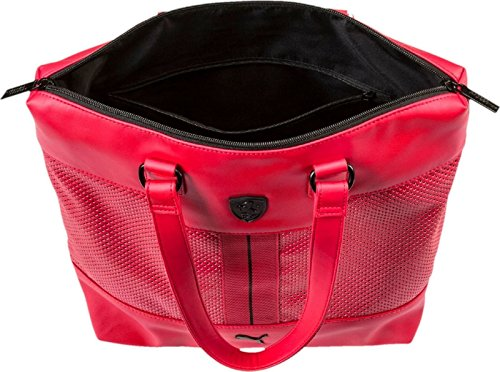f3647f3564 2017 Puma Ferrari LS Shopper Bag Women's Tote Rosso Corsa Red 074512 ...