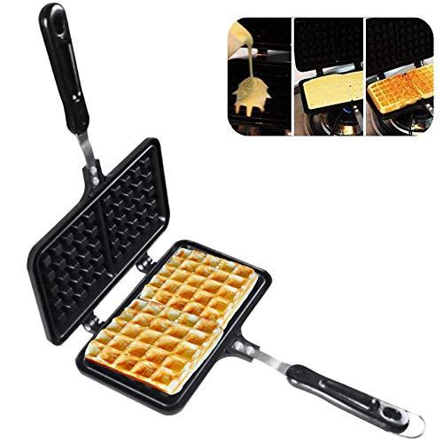 Omelette Maker Quest ANTIADERENTE Cool Touch maniglia termostato automatico nero 700W