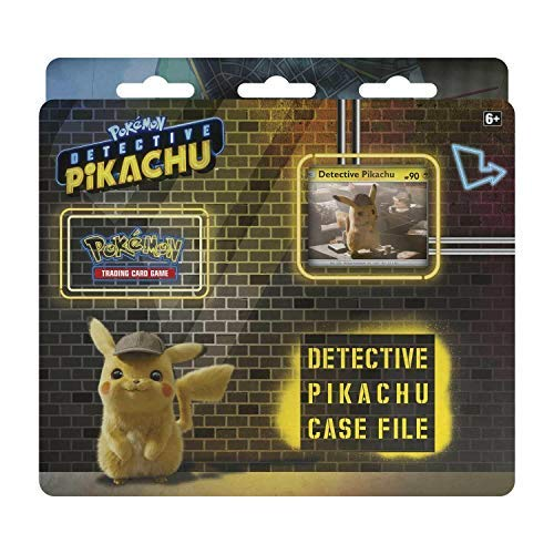 Lively Moments Pokemon Karten Detective Pikachu Case File Display EN Englisch Promo Trading Card Game