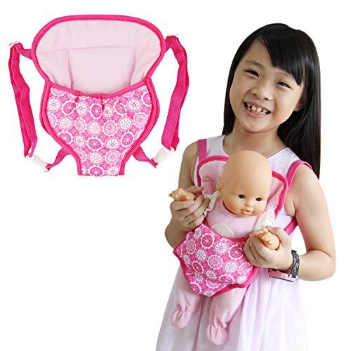 ZITA ELEMENT 1 Pezzi Zaino per Bambola da 14 - 16 Pollici Baby Doll e 18 Pollici Accessori per Bambola Americana