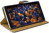 mumbi Tasche im Bookstyle für Huawei P8 MAX Tasche