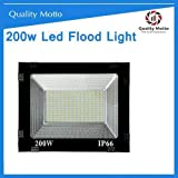 Quality Motto 200-Watt Flood Outdoor Light (White)