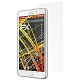 atFolix Folie für Samsung Galaxy Tab 4 7.0 (LTE/3G T235) Displayschutzfolie - 2 x FX-Antireflex-HD hochauflösende entspiegelnde Schutzfolie