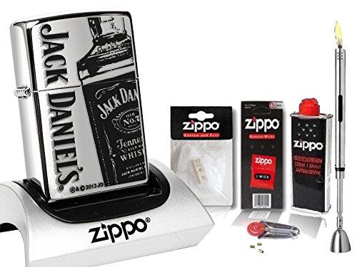 zippo-feuerzeug-jack-daniels-bottle-high-polished-zubehor-xl-stabfeuerzeug-chrome-brushed
