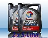 Total Quartz Ineo Longlife 5 W30-2 x 5L = 10 Liter