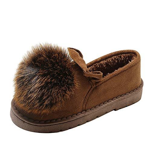Damen Schuhe Mumuj Sale Mode Kleine Baumwolle Flach Freizeitschuhe Velvet Plüsch Snow Boots Herbst Winter warme Schuhe