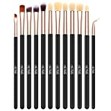 Best Eye Shadow Brushes - TheFellie 12pcs Eye Brushes Eyeshadow Brush Set Blending Review
