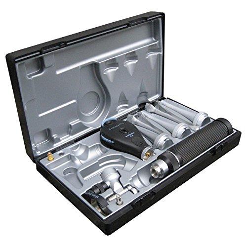 Riester 3858 Veterinär I Otoskop/Ophthalmoskop, Griff C für 2 Alkaline-Batterien, Typ C oder ri-acc, HL 2,5V/Xenon Lamp, 2.5V