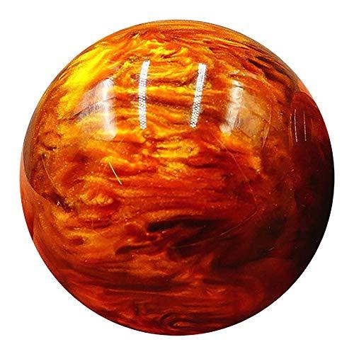 Wilk Training Props Größe: 50mm Gelb Kunstharz Goldene Gesundheit Kugel mittleres Alter und alte Leute Hand Massage Fitness Ball Goldener Handball