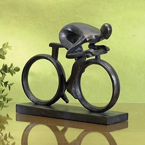 Bits und Teile-Elegante 6-3/10,2cm Vater 's Day Fahrrad Statue-äußerst geformt im Langlebig Polyresin-Beeindruckende Home Décor Skulptur-Geschenk für Dad