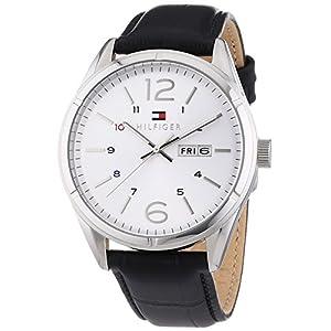 Tommy Hilfiger Watches Gents Watch Quartz Analogue XL Leather 1791060 CHARLIE