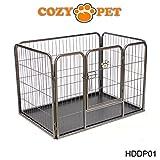 Cozy Pet Heavy Duty Puppy Playpen by Small - Rabbit Run Enclosure Dog