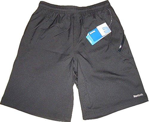 Reebok Sport Essential Woven Short. Innenhose aus atmungsaktivem Mesh. Ideal für alle Sportarten. Regular Fit. SpeedWick-Technologie. Play Dry. Größe Small (Reebok Play Dry)