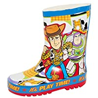 Disney Kids Toy Story Rubber Wellington Boots Buzz Woody Snow Rain Boots Unisex Girls Boys Wellies