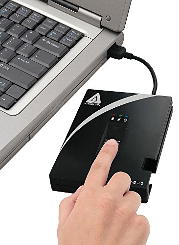 Apricorn A25-3BIO256-S128 128GB External Hard Disk Black Price in India