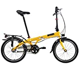 Dahon Faltrad VYBE i3 3 Gang ND Orange 20 Zoll Light Klapp Fahrrad Faltrahmen Shimano Nexus Uni, 942089