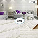 3D Three-Dimensional Wall Affixed Wall Wallpaper Self-Adhesive Bedroom Foam Wall...