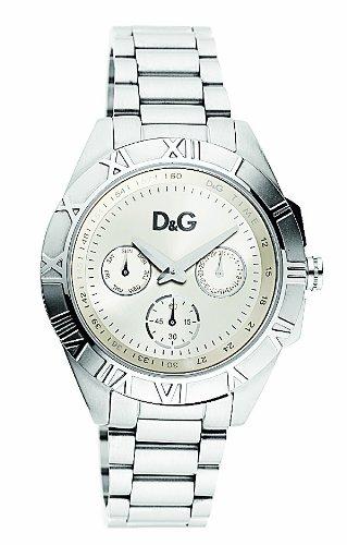 D&G Dolce&Gabbana DW0645 – Reloj analógico de mujer de cuarzo con correa plateada