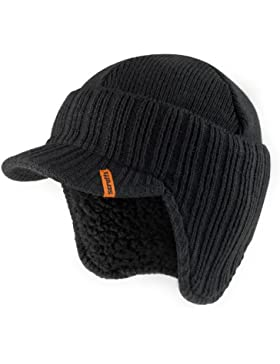 Scruffs T50986 - Gorro de lana (interior de borreguillo), color negro