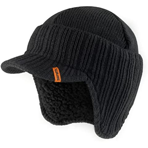 Scruffs T50986 - Gorro de lana (interior de borreguillo), color negro