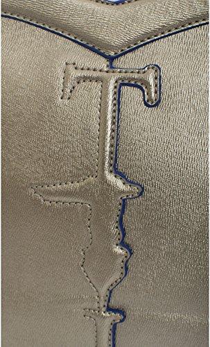 Trussardi Jeans 75B180 Henkeltaschen Damen Kunstleder Gelb