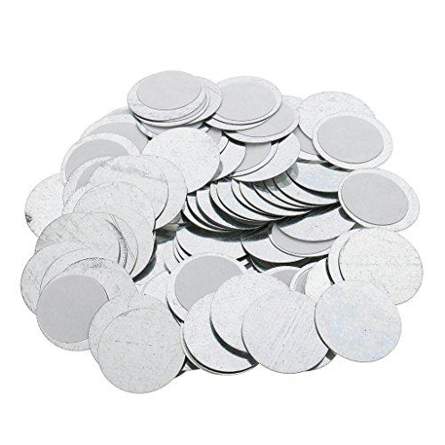 Sharplace 100 Stück Für Leere Magnetische Lidschatten Palette Pfannen zu kleben Pad DIY Palette...