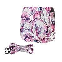 Anself Andoer PU Camera Case Bag for Fujifilm Instax Mini 9/8+/8s/8, Pink