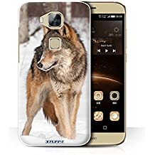 Stuff4 Phone Case/Cover/Skin/huag7p/Wildlife Animals Collection lobo