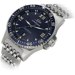 Xezo Men's Professional Pilot Diver Automatic 200 M Water Resistant Watch by Xezo