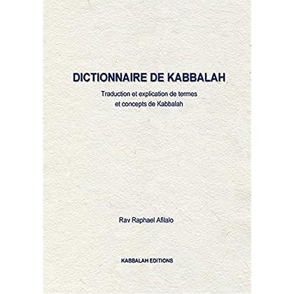 Dictionaire de Kabbalah