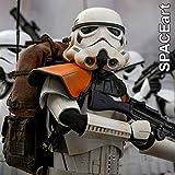 Star Wars: Jedha Patrol Stormtrooper TK-14057 | Deluxe-Figur (voll beweglich) | Hot Toys MMS392 | 1/6 (30 cm)