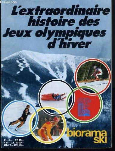 L'EXTRAORDINAIRE HISTOIRE DES JEUX OLYMPIQUES D'HIVER - XII OLYMPIC WINTER GAMES LAKE PLACID 1980 par COLLECTIF