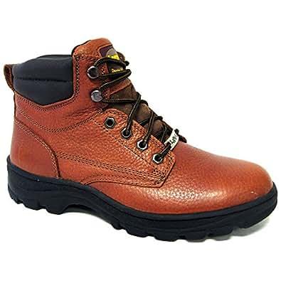 La Vega 6518 Mens Brown Leather Slip and Oil Resistant