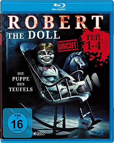 Robert the Doll 1-4 Deluxe Box-Edition (uncut) [Blu-ray]
