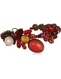 VICKISARGE Adele Red Oval Bracelet of 3cm