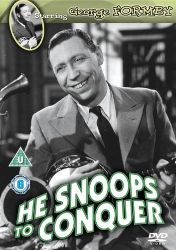 He Snoops to Conquer [Regions 2 & 4] by George Formby