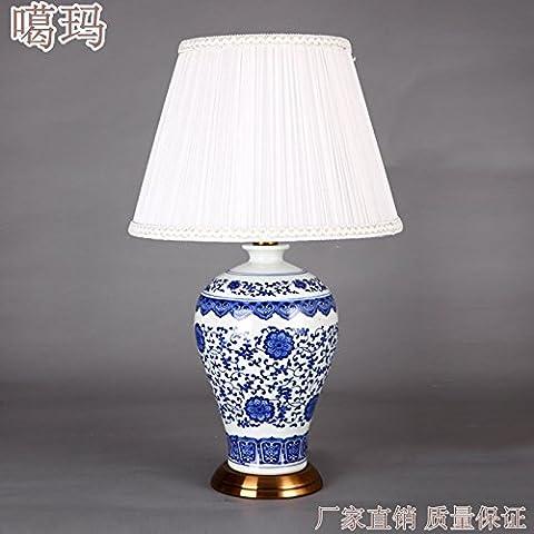 Yan Blu e bianco Meiping porcellana hotel