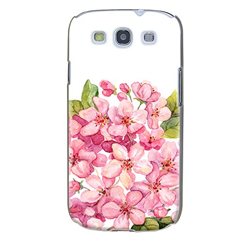 Handyhülle für Samsung Galaxy S3 Mini ( Blume ) - Hülle - Schutzhülle mit Motiv - TPU Silikon Hülle - Case - Cover - Schale - Backcover - Handytasche