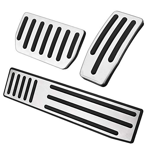 Viviance Car Non-Slip Pedal Pads Kit Für Tesla Model S Und Model X