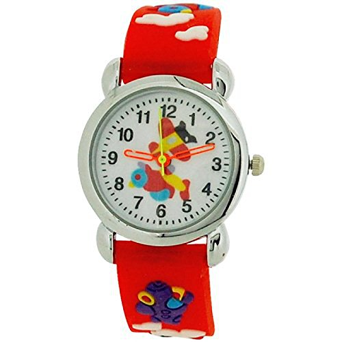 relda-childrens-boys-3d-flying-aeroplane-red-silicone-strap-watch-rel48